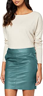 Only Onlbase Faux Leather Skirt Otw Noos Falda para Mujer