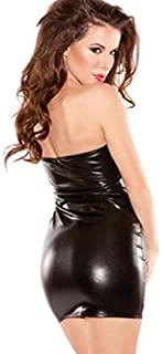 MVPKK Vestidos de Mujer, Vestidos de Cuero Vestidos de Noche Sexy Vestidos sin Tirantes Overoles de Mujer Vestidos de Fiesta Mujer Clubwear Ropa Interior Faldas de Mujer Invierno
