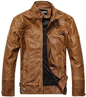 chaqueta de cuero biker zalando