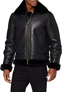 chaqueta de cuero hombre zalando