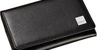 SIGEL VZ200 Tarjetero de piel, Torino, color negro