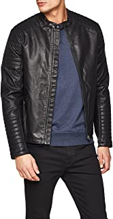 JACK & JONES Jorpunch Biker Jacket Chaqueta para Hombre