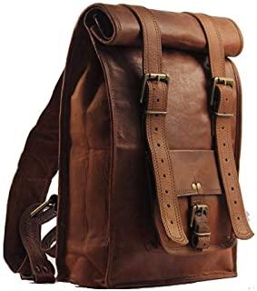 mochila de piel hombre zara