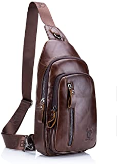 mochila de cuero hombre 2020