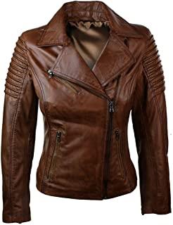 chaquetas de cuero mujer tiendas
