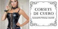 corset de cuero sexy