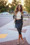 faldas de vestir elegantes