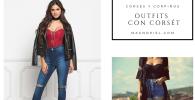 como vestir corsets