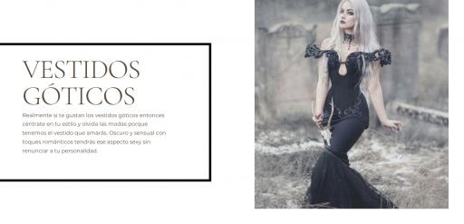 vestidos goticos amazon