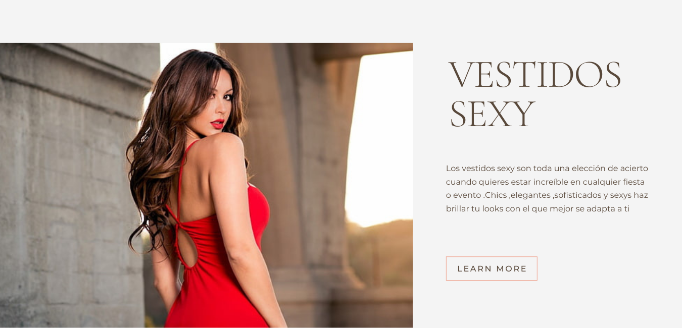 VESTIDOS SEXY